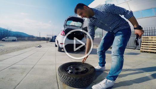Како да ја промениш гумата на твојот автомобил